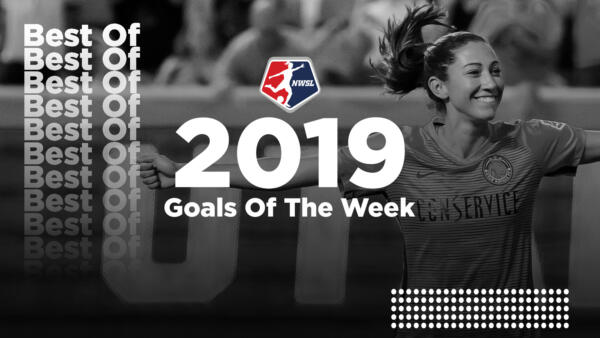 2019 NWSL Goals of the Week