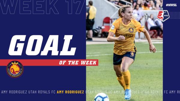Amy Rodriguez, Utah Royals FC | Week 17  Goal of the Week