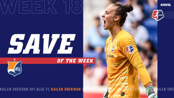 Kailen Sheridan, Sky Blue FC | Week 18 Save of the Week