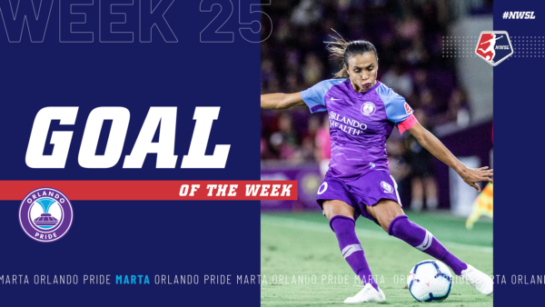 Marta, Orlando Pride | Week 25 Goal of the Week