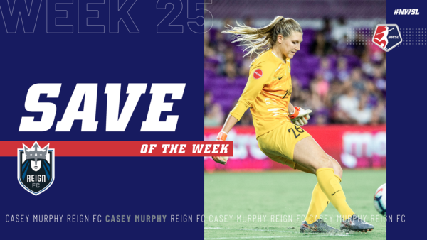Casey Murphy, Reign FC | Week 25 Save of the Week