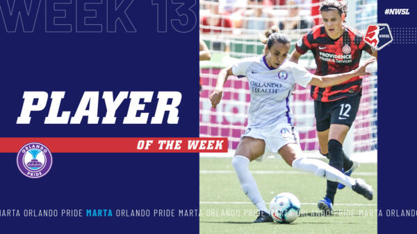 Marta, Orlando Pride | Week 13 Player of the Week