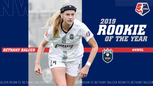 NWSL Rookie of the Year: Bethany Balcer, Reign FC