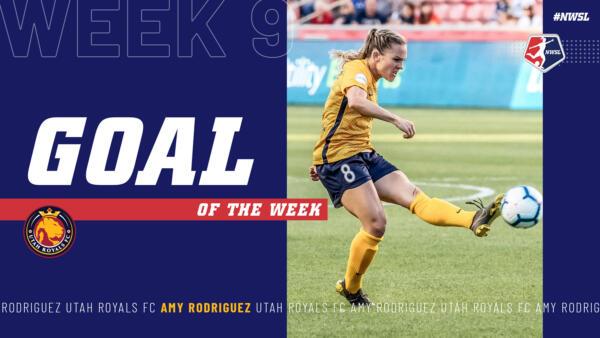 Amy Rodriguez, Utah Royals FC | Week 9 Goal of the Week