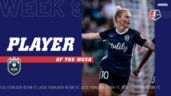 Jess Fishlock, Reign FC | Week 9 Player of the Week