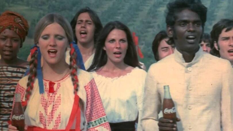 Picture of the Coca-Cola Hilltop ad