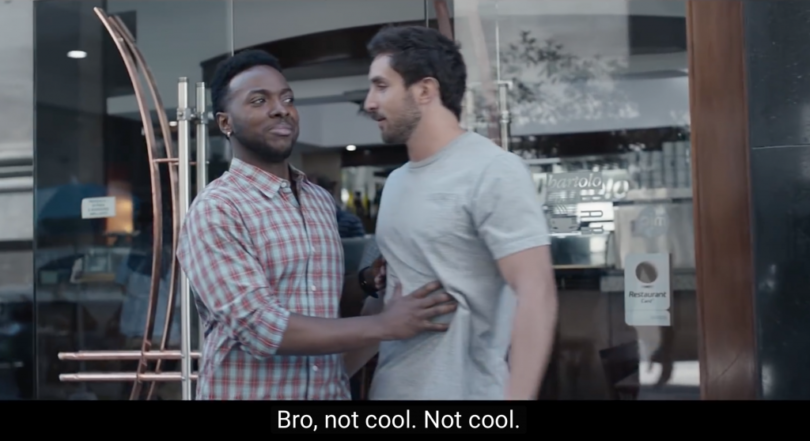 Screen Shot from Gillette's ad campaign