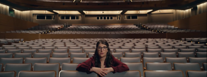Picture of Mayim Bialik from IBM ad campaign