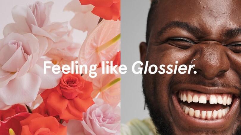 Feeling like Glossier advertising image