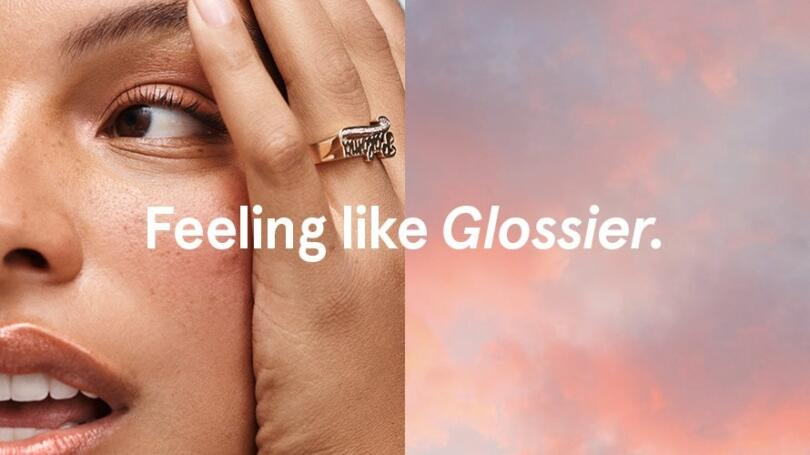 Feeling like Glossier advertising image