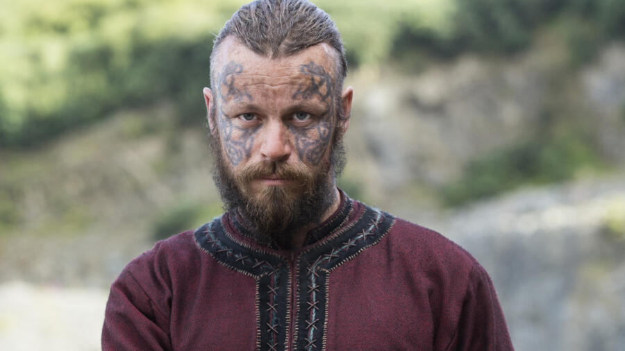 Peter Franzén as King Harald Finehair, Vikings