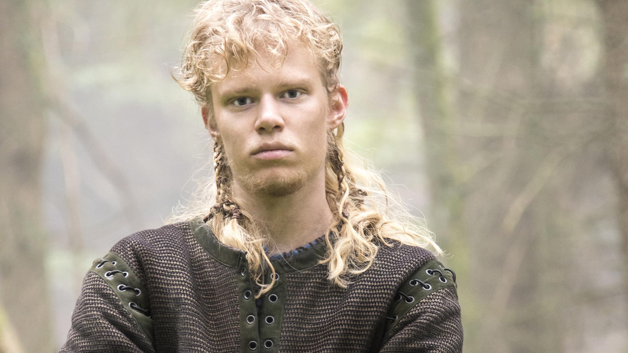 Sigurd Snake in the Eye - Vikings Cast | HISTORY