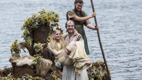 Gustaf Skarsgård as Floki, Vikings