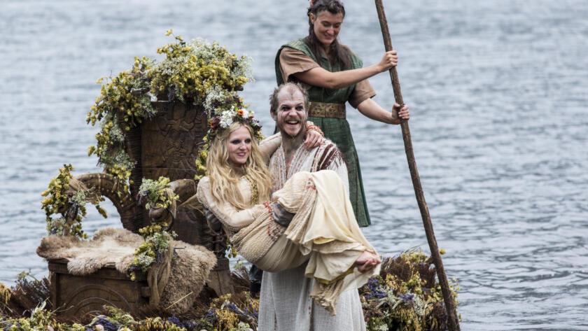 Gustaf Skarsgård as Floki, Vikings