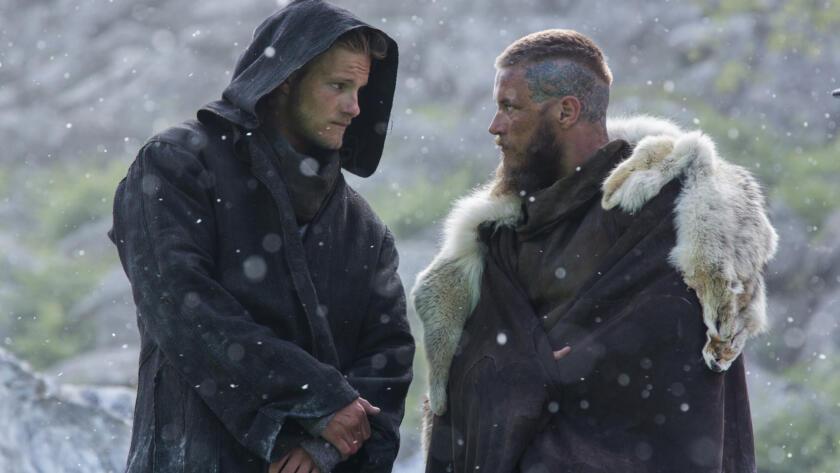 Alexander Ludwig, Travis Fimmel, Vikings