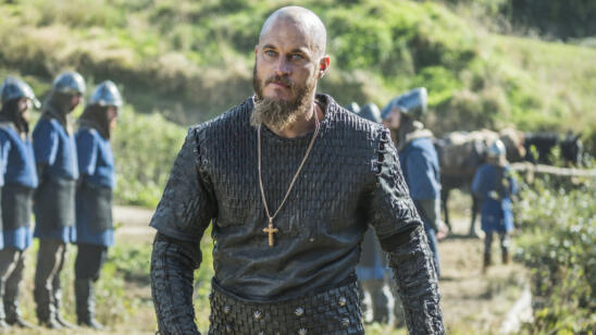 Travis Fimmel as Ragnar, Vikings