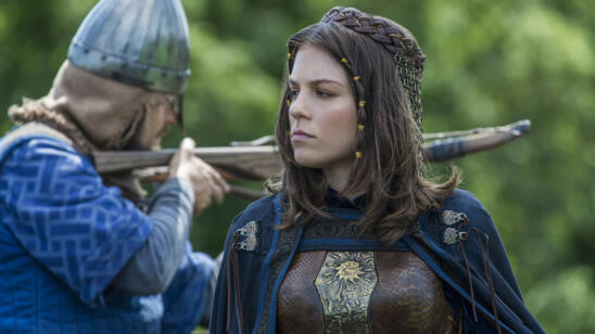 Morgane Polanski as Princess Gisla, Vikings
