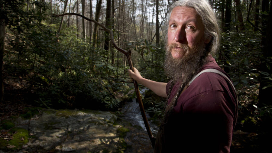 History channel, mountain men, eustace conway