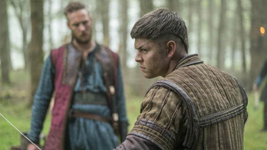 Jordan Patrick Smith as Ubbe and Alex Høgh Andersen as Ivar, Vikings