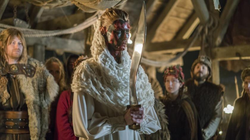 Alyssa Sutherland as Aslaug, Vikings