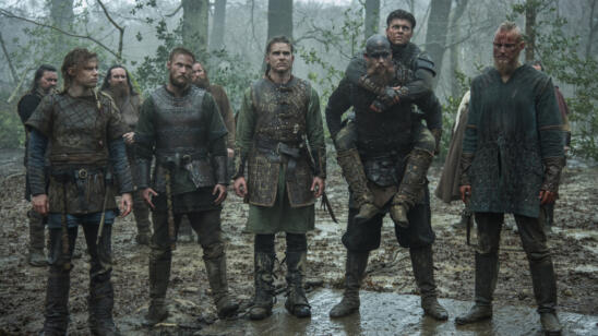 David Lindström as Sigurd, Jordan Patrick Smith as Ubbe, Marco Ilsø as Hvitserk, Gustaf Skarsgård as Floki, Alex Høgh Andersen as Ivar and Alexander Ludwig as Bjorn, Vikings