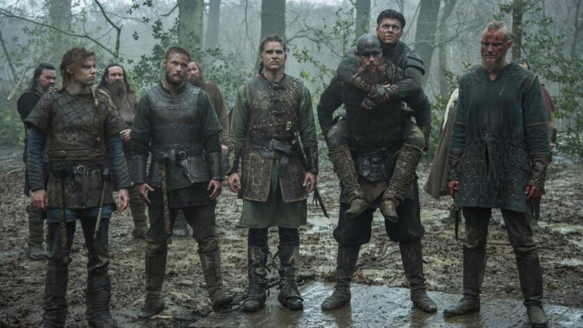 David Lindström as Sigurd, Jordan Patrick Smith as Ubbe, Marco Ilsø as Hvitserk, Gustaf Skarsgård as Floki, Alex Høgh Andersen as Ivar and Alexander Ludwig as Bjorn, Vikings