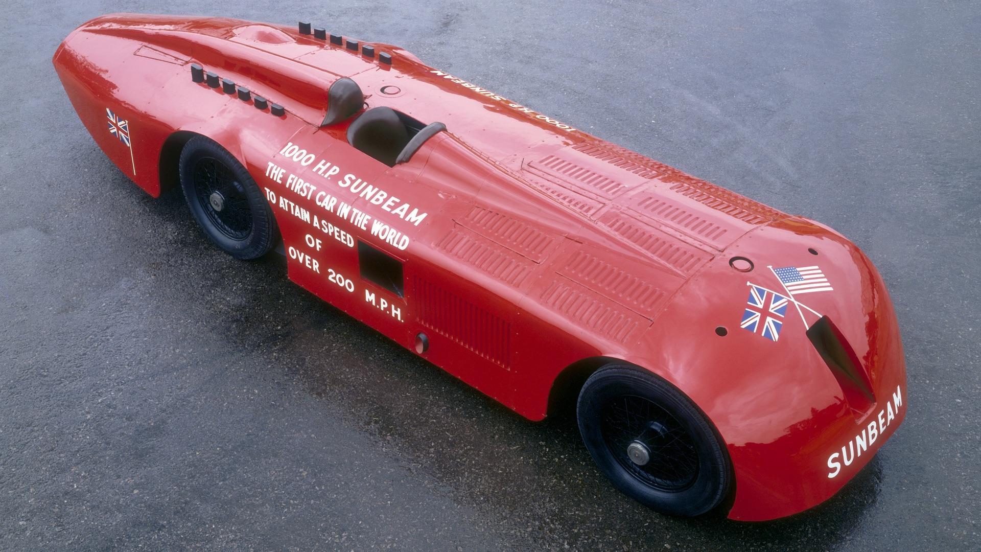 1,000-horsepower Sunbeam
