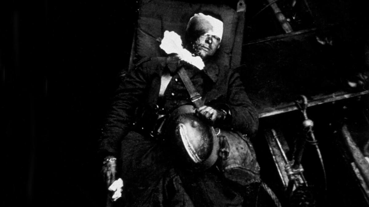 A wounded Frenchman