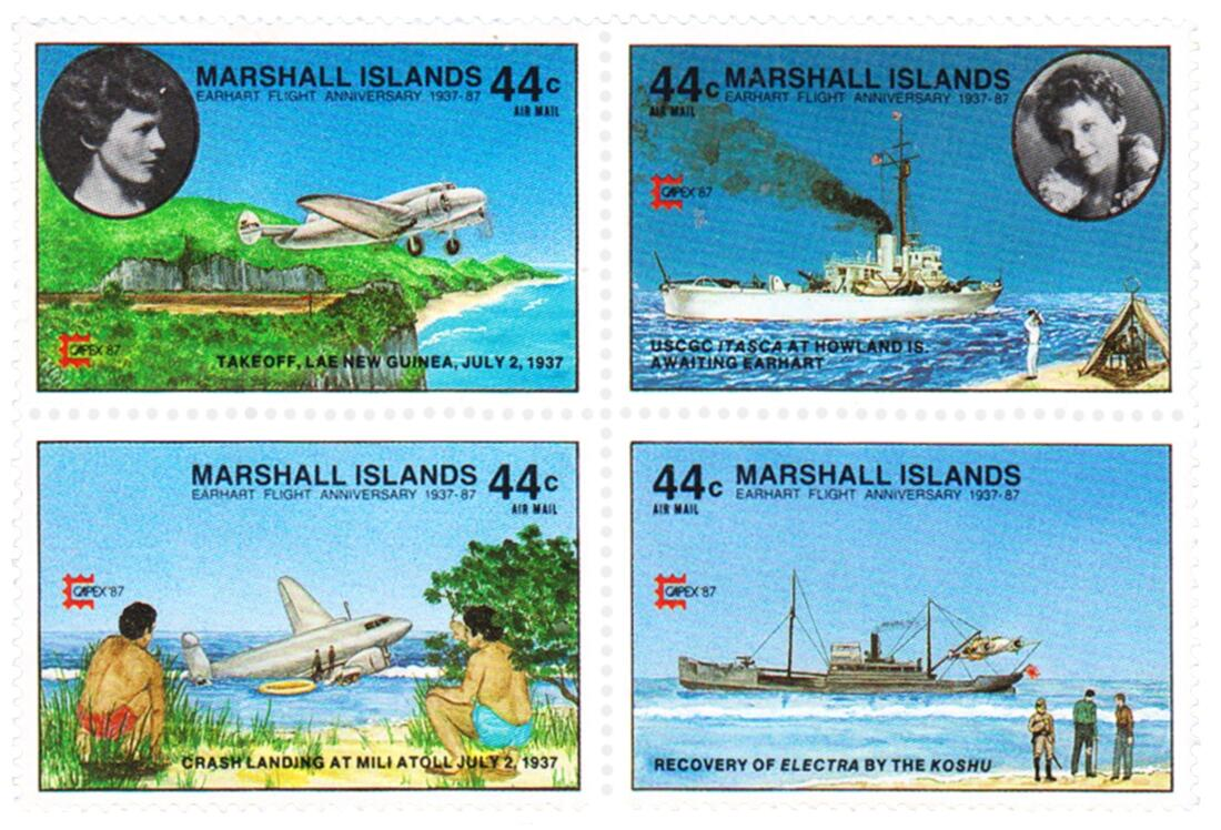 Commemorative Stamps, Marshall Islands
