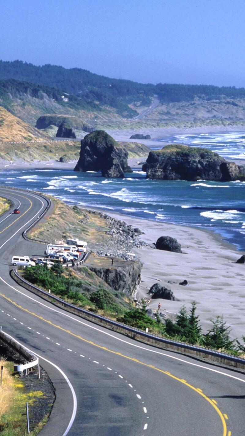Cape Sebastian along Route 101