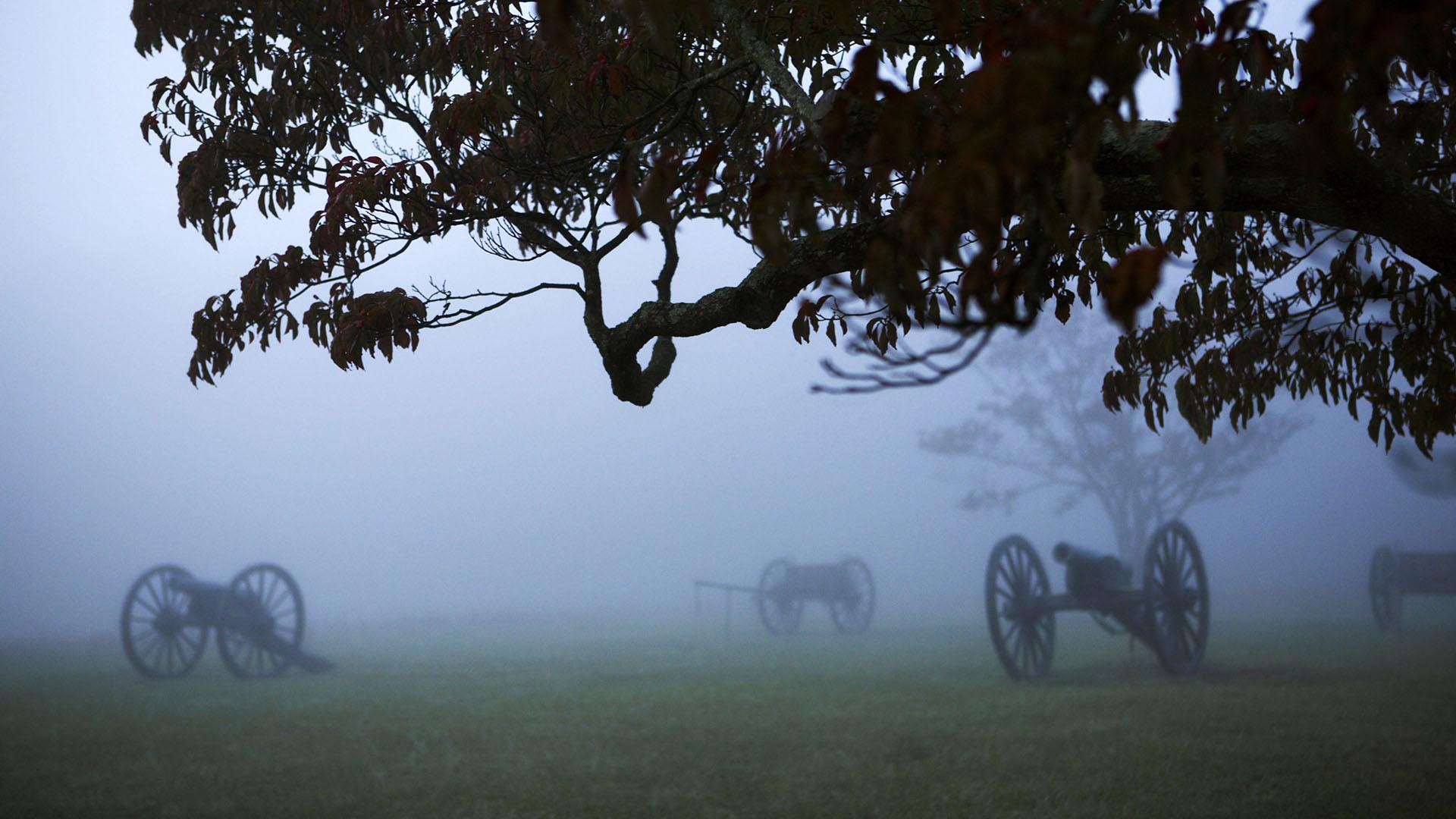 Manassas Civil War battle field