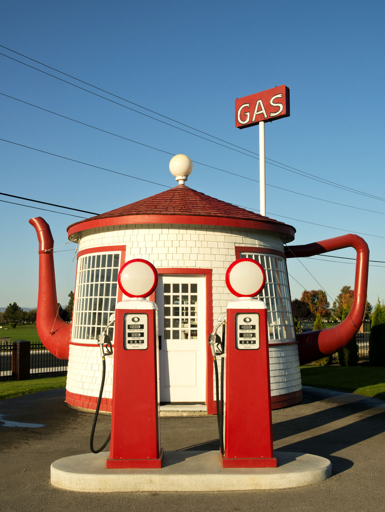Historic Teapot Gas Station