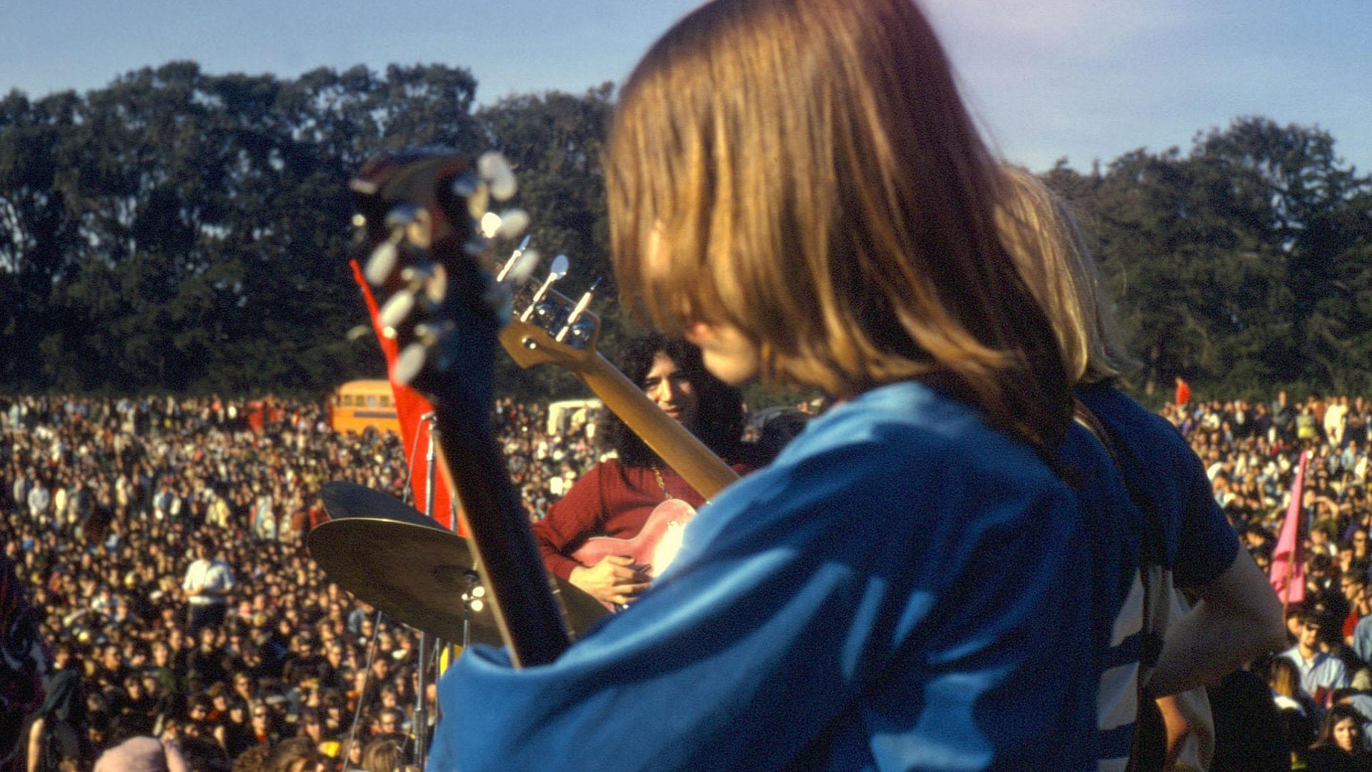 Jerry Garcia and Bob Weir