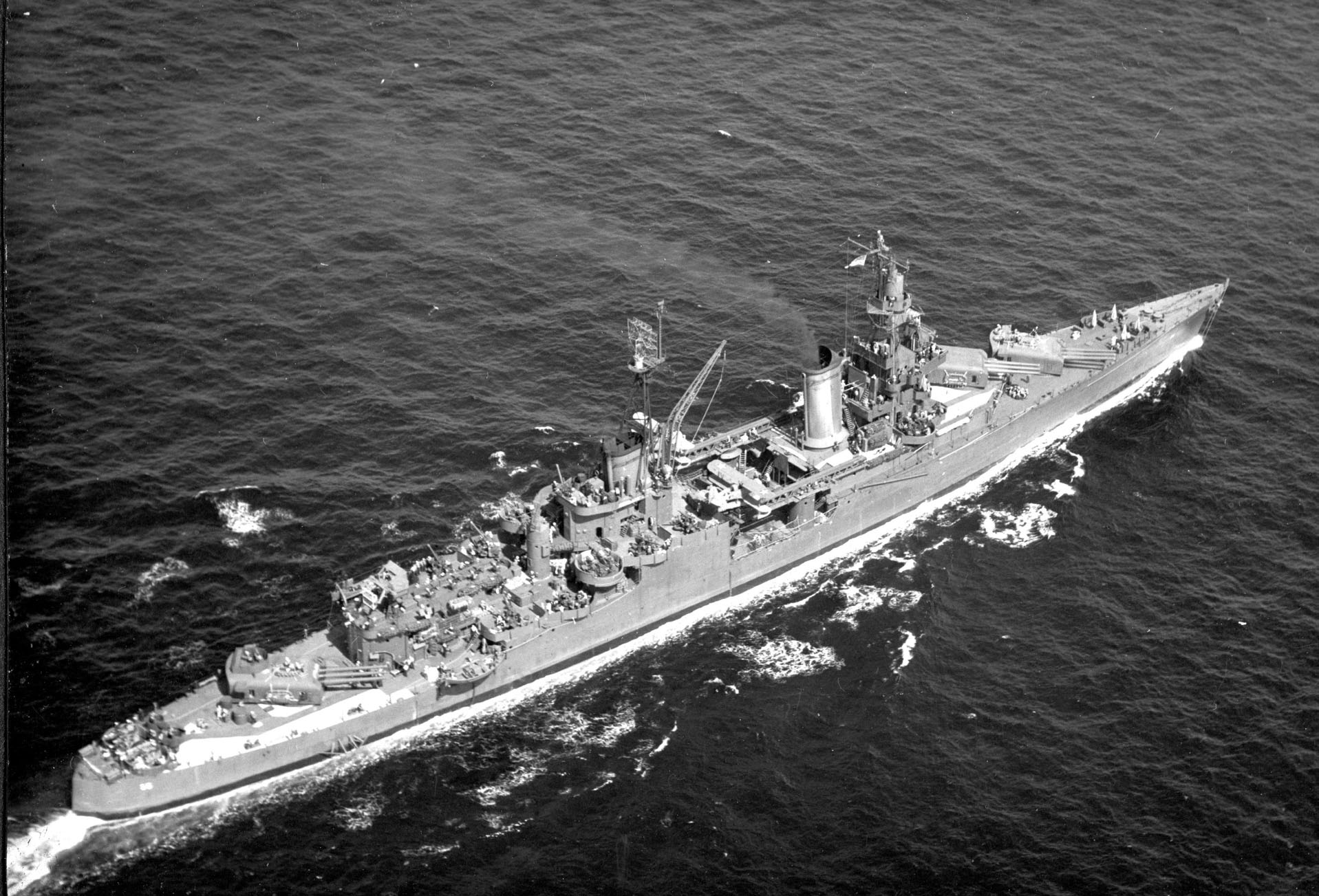 After 72 Years, Wreckage of U.S. Navy's Biggest Tragedy is Found