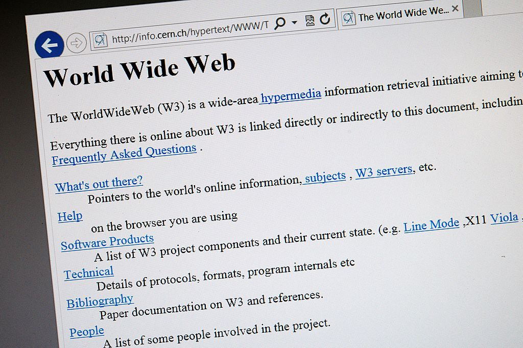 The World's First Web Site