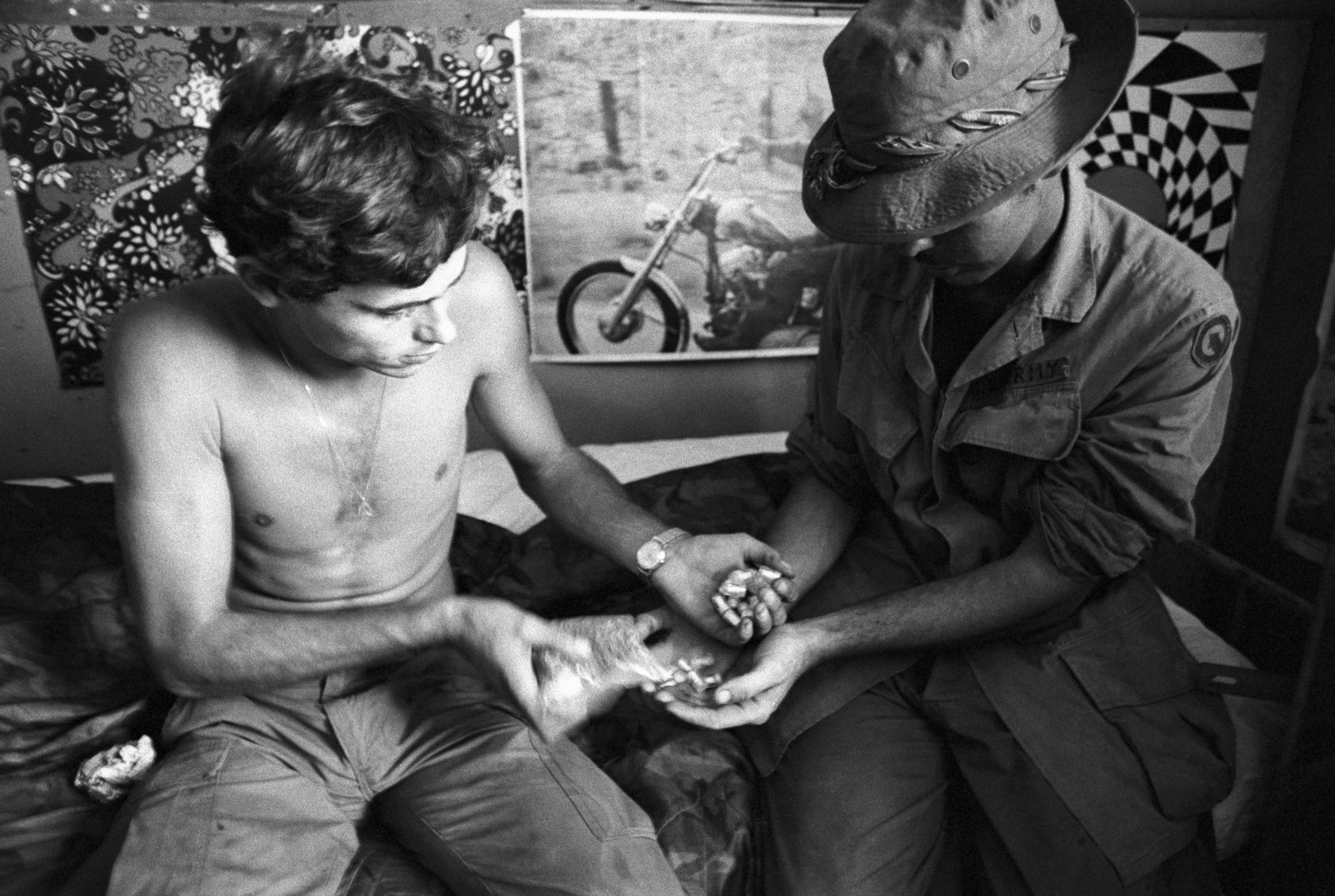 G.I.s' Drug Use in Vietnam Soared—With Their Commanders' Help