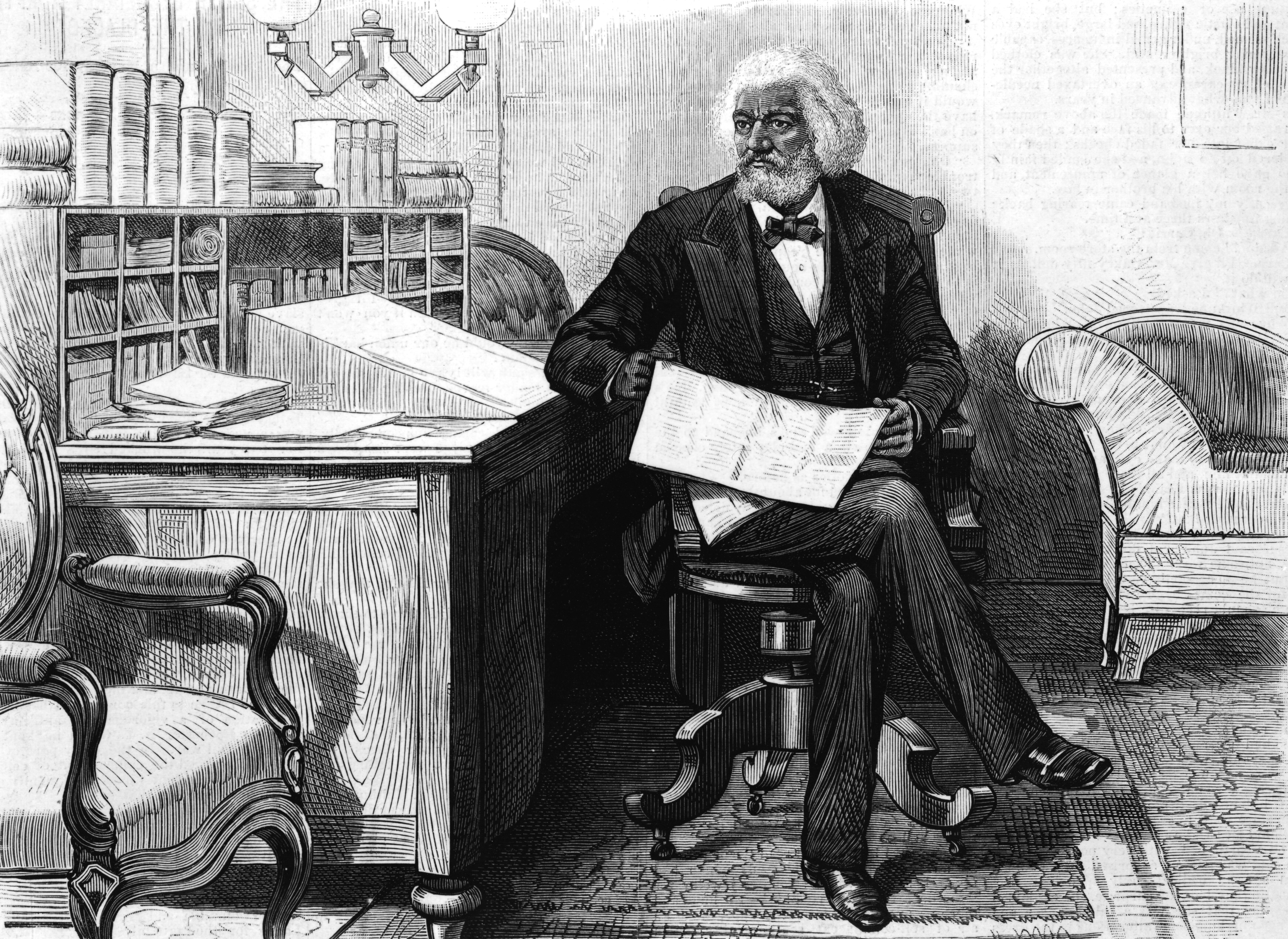Frederick Douglass's Emotional Meeting With His Former Slave Master