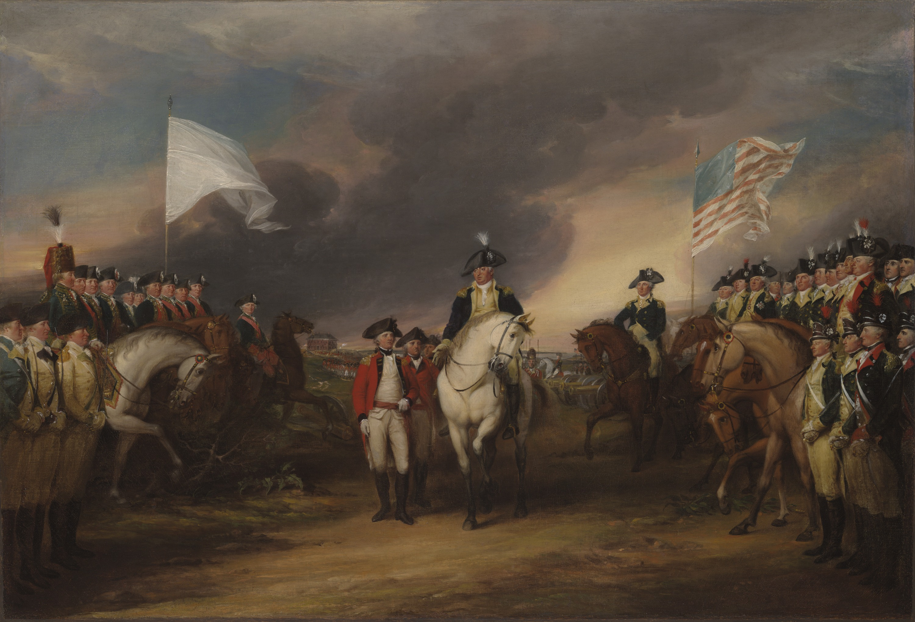 When did the white flag become associated with surrender? - HISTORY