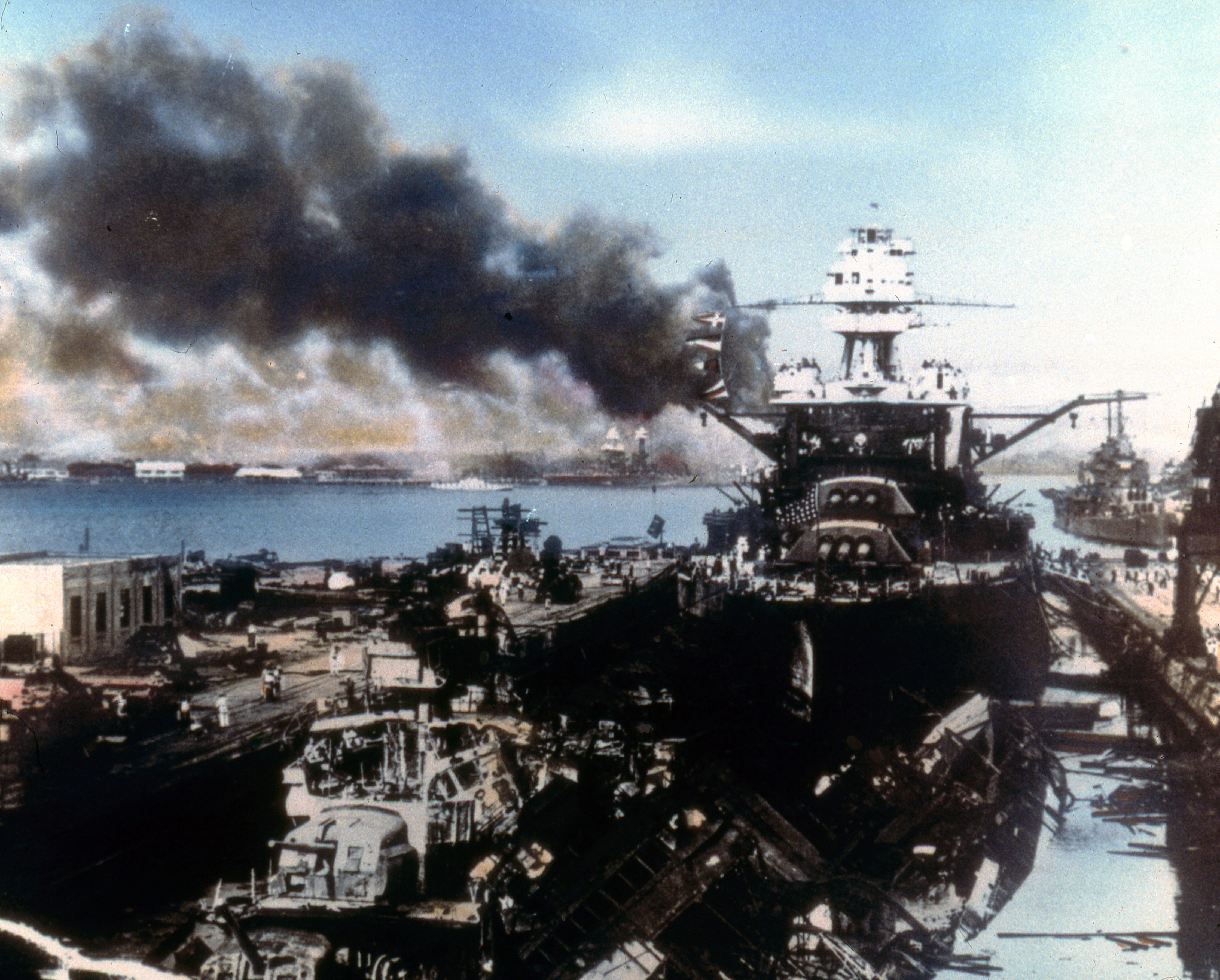 After Pearl Harbor: The Race to Save the U S  Fleet - HISTORY