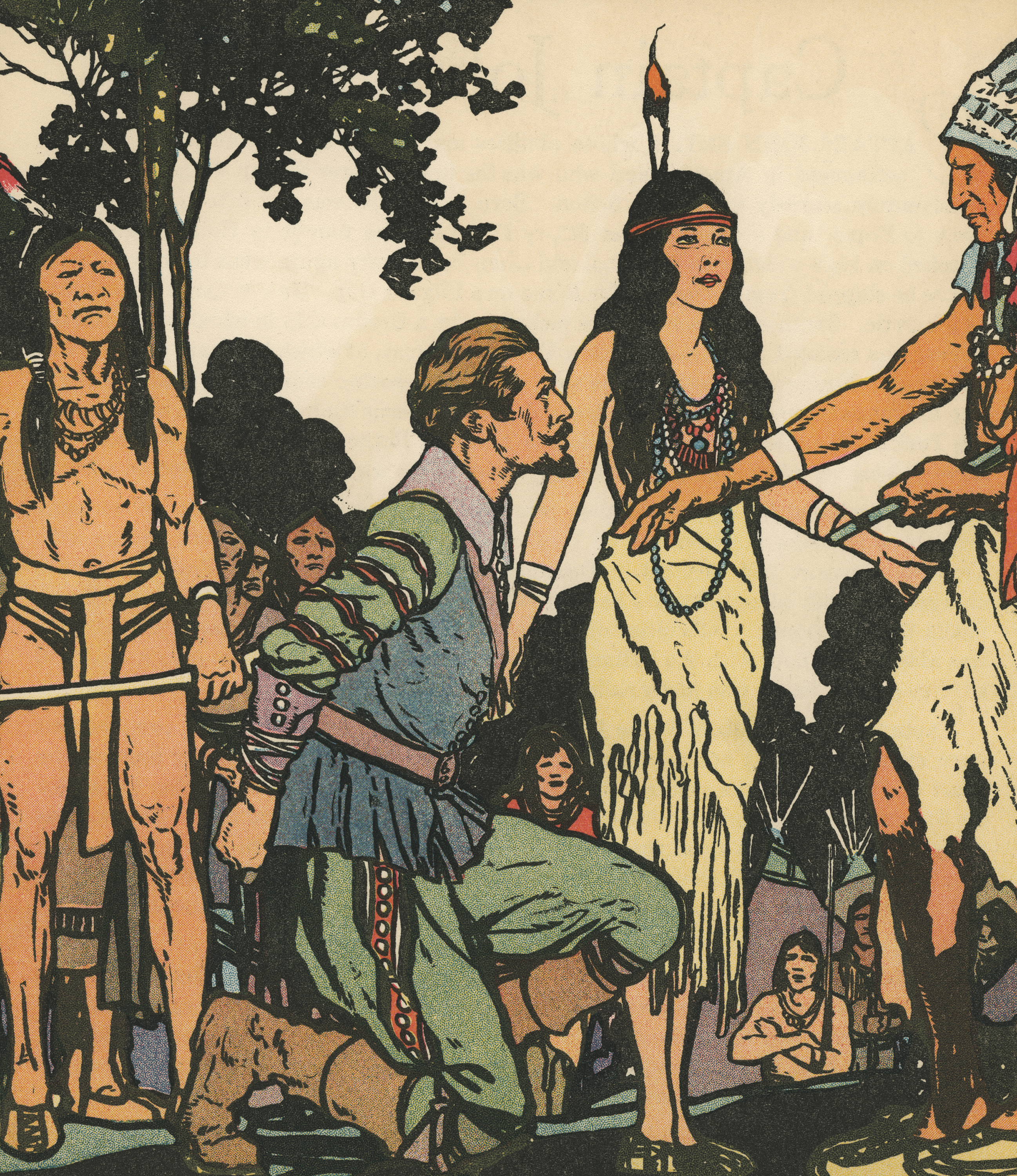 How Early American Plays Turned Pocahontas into Fake News
