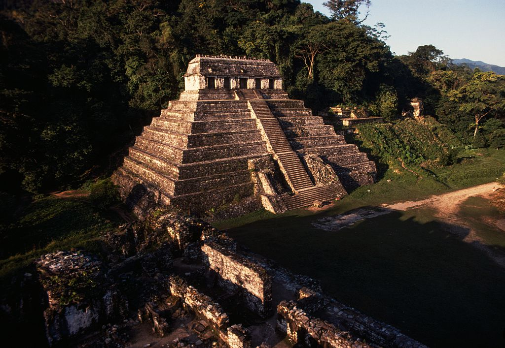 Water Tunnel Found Under Mayan King's Tomb