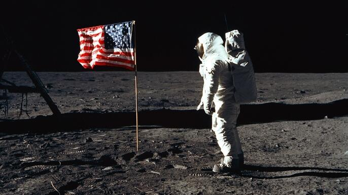 Video: Apollo 11: They Almost Forgot the American Flag