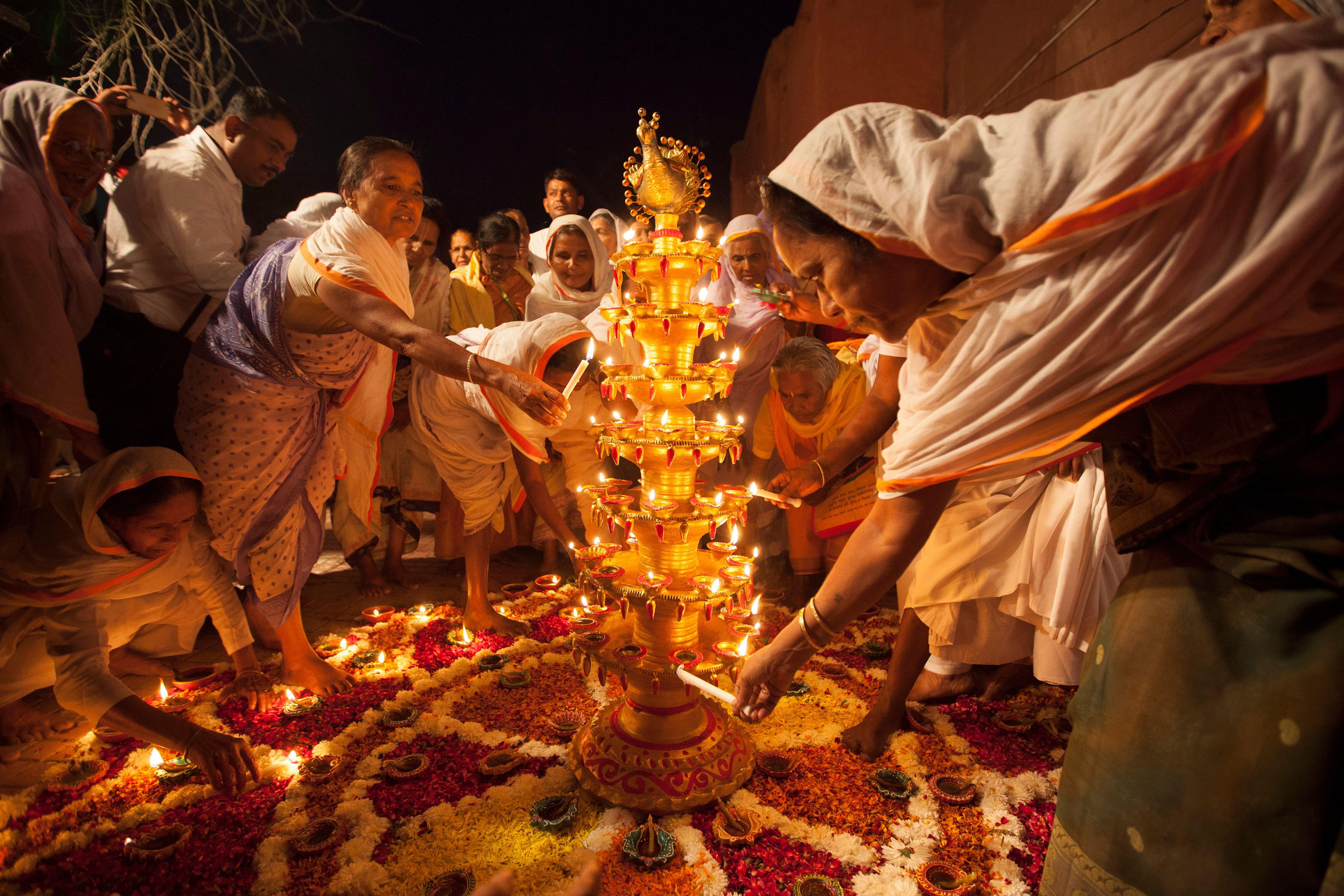 Праздник в индии дивали картинки