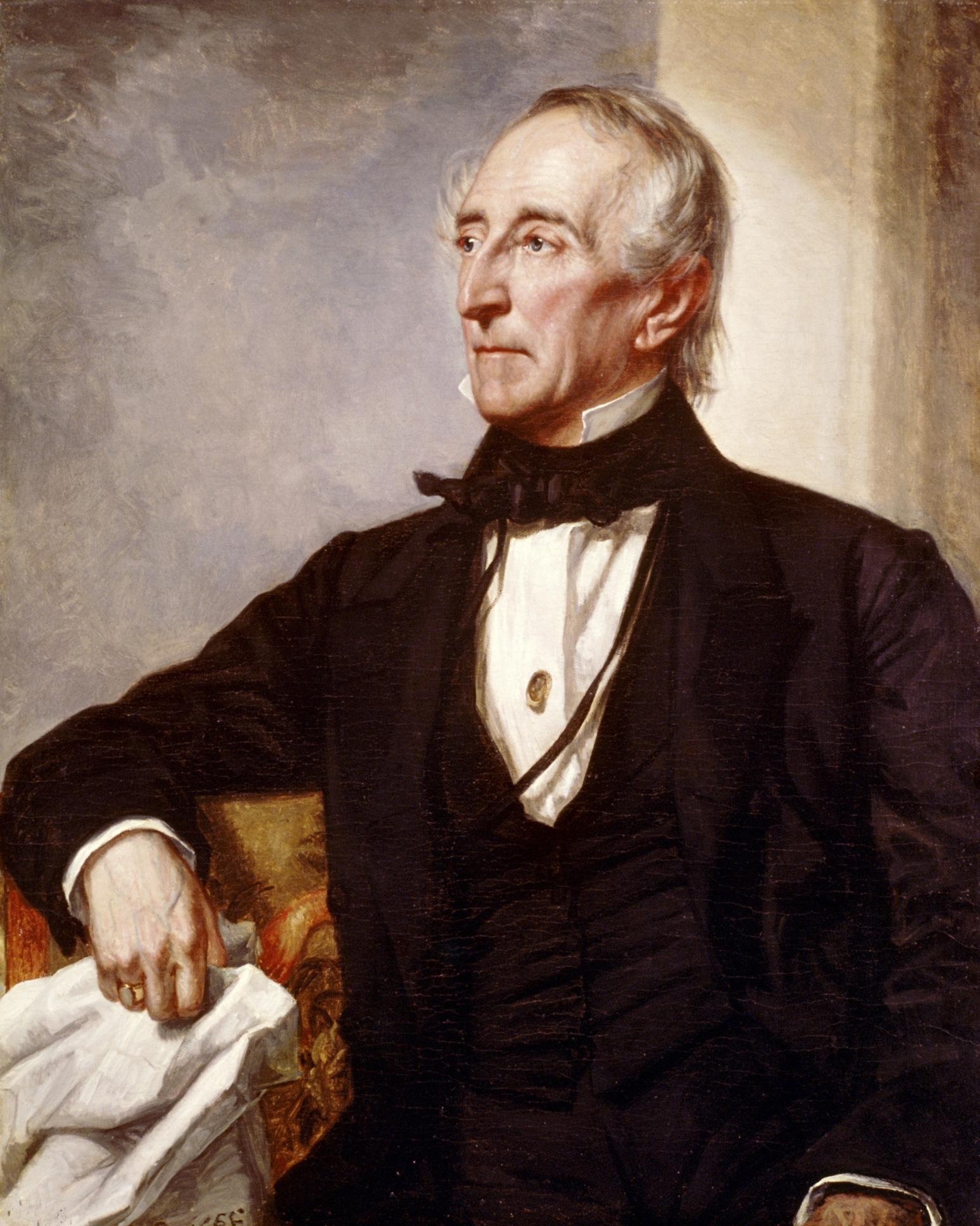 John Tyler's Passionate White House Romance
