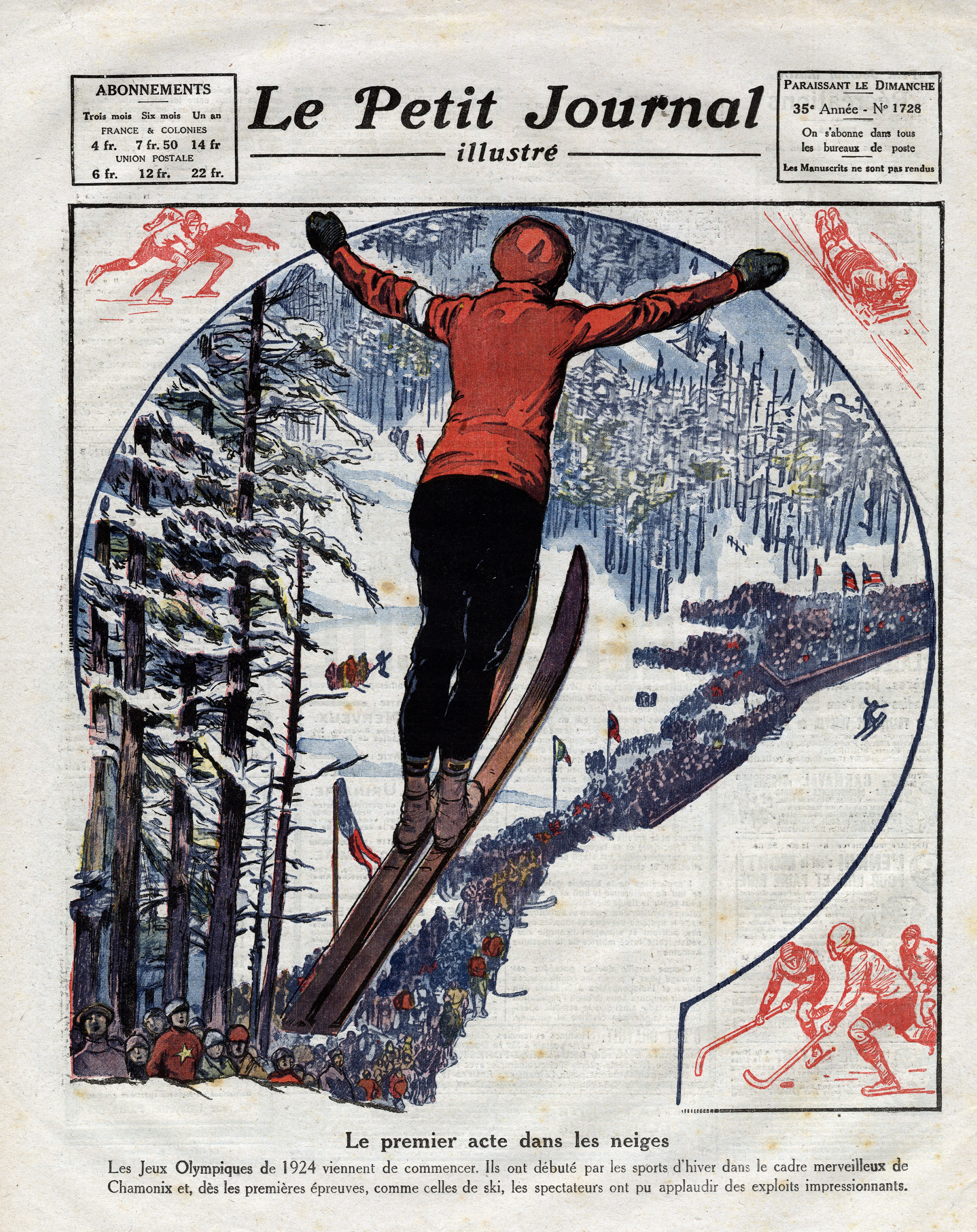 the first winter olympics history. Black Bedroom Furniture Sets. Home Design Ideas