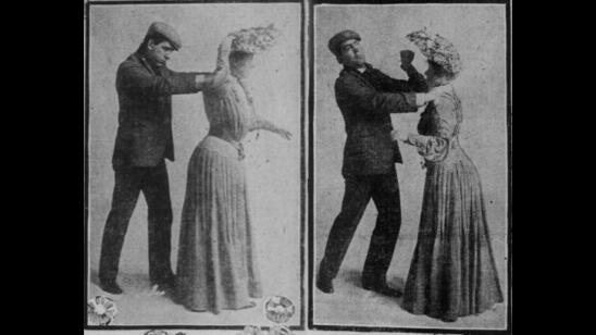 Early 1900s Women Had an Ingenious Method for Fending Off Gropers