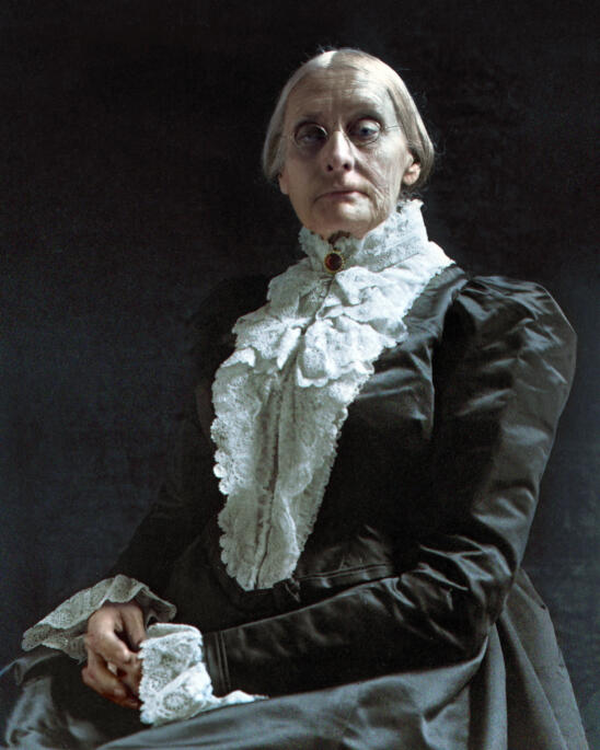Long Before #TimesUp, Susan B. Anthony Spent 50 Years Dressed in Black