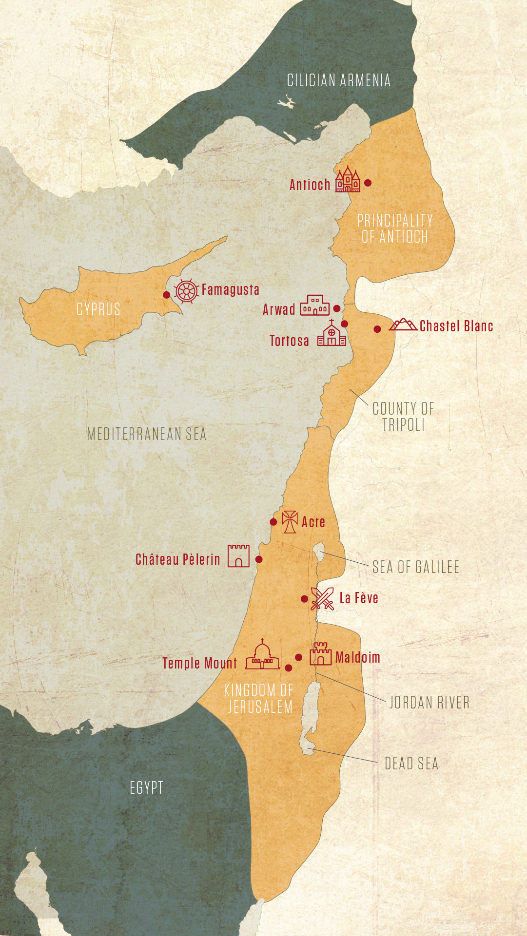 Picture of: Knights Templar Hot Spots In The Holy Land History