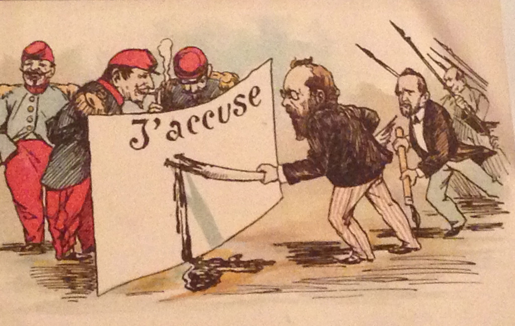 What was the Dreyfus affair?