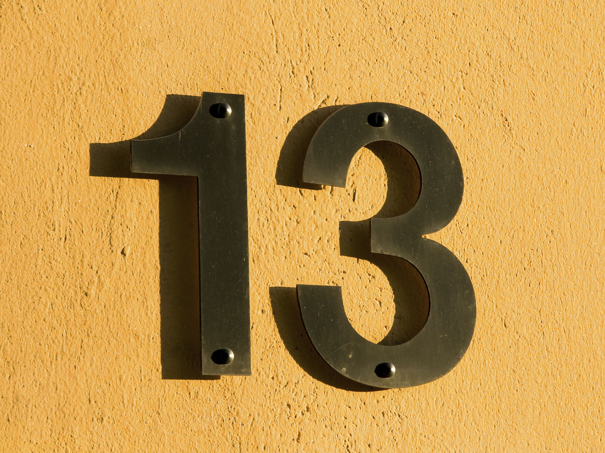 What's so unlucky about the number 13